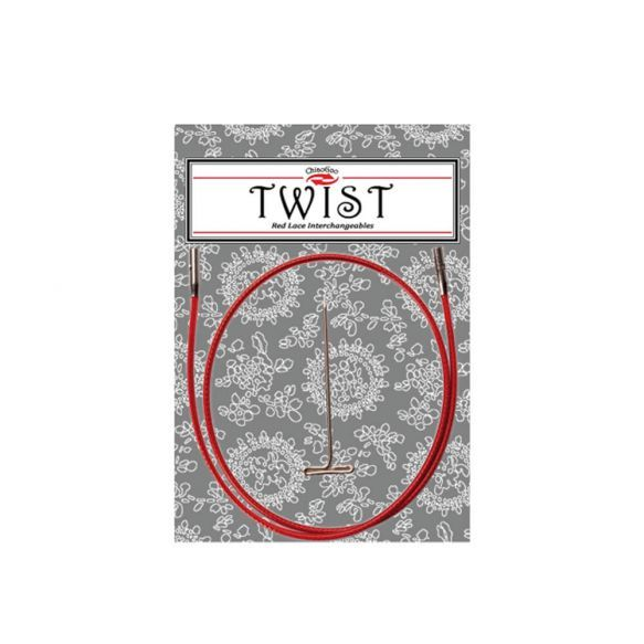 Chiaogoo Twist Red Cable 55cm (small)