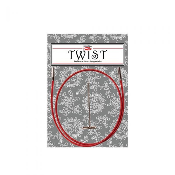 Chiaogoo Twist Red Cable 75cm (small)