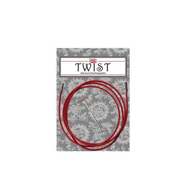 Chiaogoo Twist Red Cable 93cm (small)